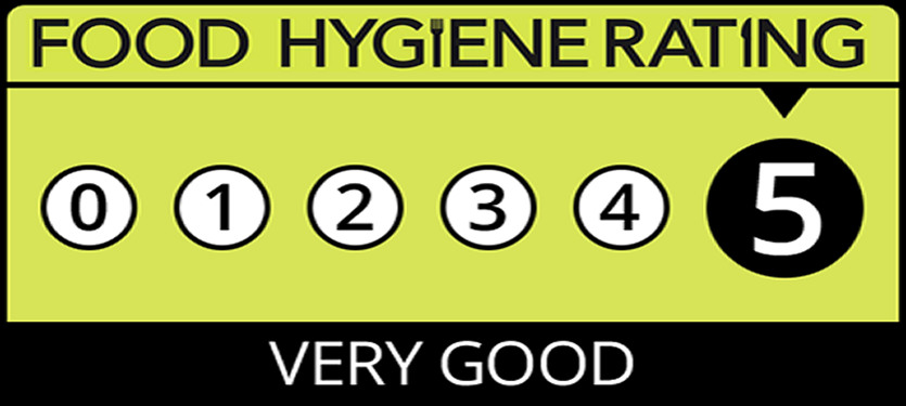 5 Star Food Hygiene Rating 2018